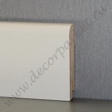 Белый гладкий мдф 70х16