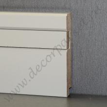 Белый вставка с фаской мдф 80х16