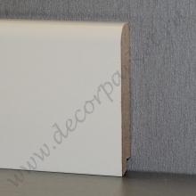 Белый гладкий мдф 80х16