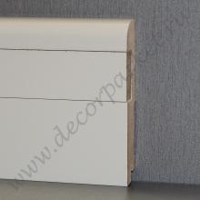 Белый вставка гладкая мдф 100х16