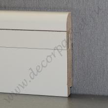 Белый вставка гладкая мдф 80х16