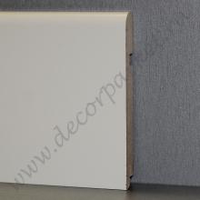 Белый гладкий мдф 120х16