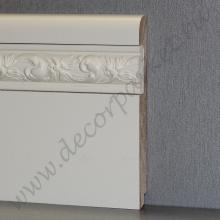 Белый вставка фигурная мдф 120х16