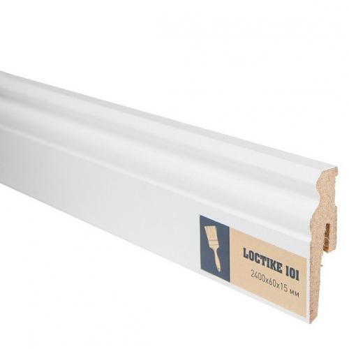 Arbiton Loctike Белый 101 мдф 60x15