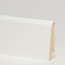 Белый гладкий 58x20