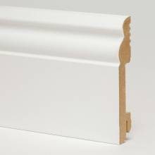 Белый 5535 глянцевый мдф 100x18