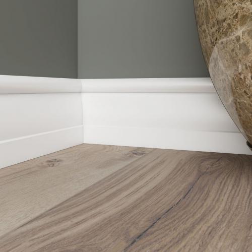 Ultrawood Белый Base 020 лдф 60 x 15