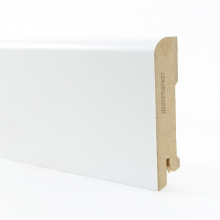 Белый W02-80 мдф 80х16