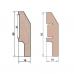 Cosca Белый AP4 мдф 60x16