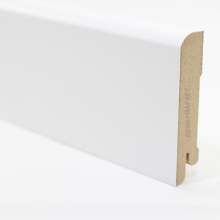 Белый U102 мдф 80х16