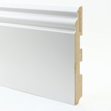 Белый U105 мдф 150х16