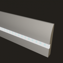 Белый PN 080 led мдф 95x16