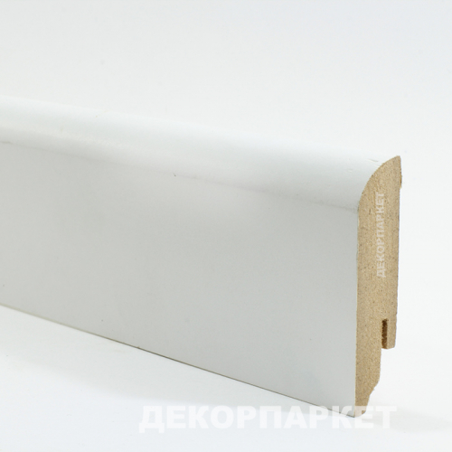 Teckwood Белый прямой мдф 70x16