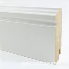 Белый фигурный мдф 100x16