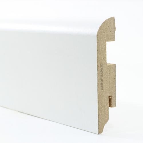 Teckwood Белый прямой мдф 80x16