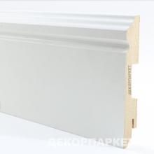 Белый фигурный мдф 120x16