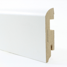 Белый глянцевый прямой мдф 80x16