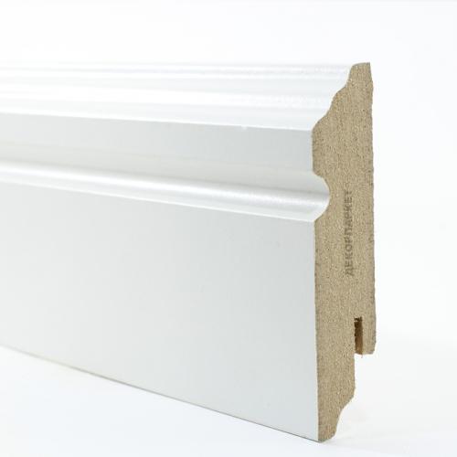 Teckwood Белый фигурный мдф 80x16
